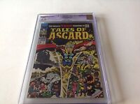 TALES OF ASGARD 1 CGC 9.0 WHITE PAGES THOR SQUARE BOUND 1968 MARVEL COMICS