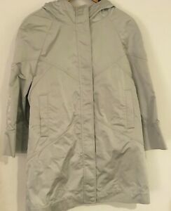 NWT $3995 Brunello Cucinelli Hooded Raincoat jacket monili sz M-42
