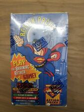 1996 Skybox SUPERMAN Action Packs Factory Sealed Collectible