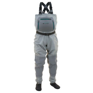 Frogg Toggs Women's Hellbender StockingFoot Chest Waders - Large, Free Shipping!