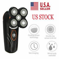 Rechargeable 5-Head Floating Men Electric Shaver Beard Hair Trimmer Bald Razor