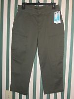 NWT LEE Natural, Relaxed & Easy Fit Capri Pants; Assorted Sizes, Colors & Styles