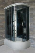 Cabina e vasca Idromassaggio multifunzione 120x80 cm Ozonoterapia Massaggio box