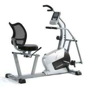 Stationary Indoor Cycling Cross Training Adjustable Magnetic Exercise Bike New