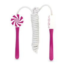 ULYSSE 3950 Corde à sauter rose bois pour les enfants env. 200 cm de longueur