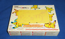 Nintendo New 3DS XL - Pikachu Yellow Edition Brand New MINT CONDITION