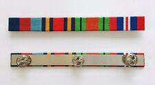 WW2 Medal Ribbon Bar 39-45 Star Burma Star Defence & War Medal