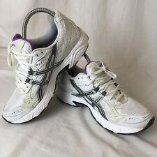 Mujeres Tenis para correr Asics Patriot Blanco Violeta UK Size 7.5 EU 41.5 Zapatillas Gel