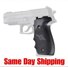 Hogue Grip For A Sig Sauer P226 - Rubber Finger Groove Black 26000 Same Day ship