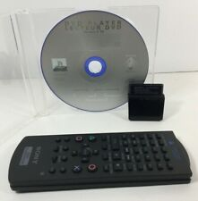 Sony Playstation 2 PS2 DVD Player Disc Version 2.10 - Remote Control - Receiver