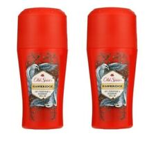 2x Old Spice Hawkridge Antiperspirant Deodorant Roll On For Men 2x50ml