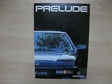 Honda Prelude prestige brochure Prospekt Dutch text 28 pages 1990