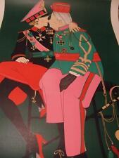 """Coporal Benedikt & Grand Duke Victor By Denis Paul Noyer hand-signed with COA"