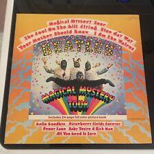 The Beatles Magical Mystery Tour 1978 UK Yellow Gatefold Vinyl Record LP NM Wax!