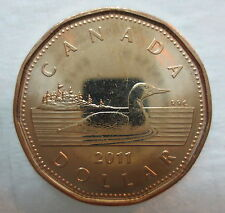 CANADA 2011 LOONIE BRILLIANT UNCIRCULATED DOLLAR