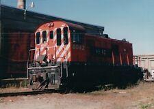 Train Photo WHRC Windsor Hantsport Railway 8042 RS23 Train Northern Maine Jct ME