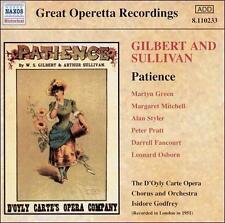 Gilbert & Sullivan: Patience [1951 Recording] (CD, Sep-2003, Naxos (Distributor)