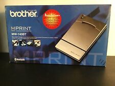 Brother MPRINT MW-140BT Thermal Printer w/power adapter,mini USB cable, driver