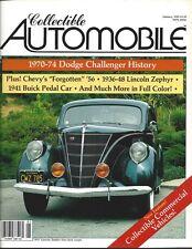 Collectible Automobile Magazine 1985 January Vol 1 - No 5