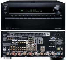 Onkyo TX-NR5010 9.2-channel home theater receiver, Internet-ready,4K PASSTHROUGH