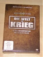 Die Welt Im Guerra Limitata Gesamtedition 12 DVD Cofanetto + Opuscolo Nuovo &
