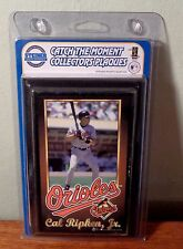 "STEINER CAL RIPKEN JR. ""CATCH THE MOMENT"" COLLECTORS PLAQUE"
