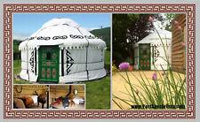 """4.2m (13'9"""") diameter yurt (floor area 13.8m²) - Eco living / Second Hand Yurt"""