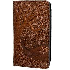 Tree of Life Saddle Leather Checkbook Cover by Oberon Design COMBINED SHIPPING