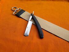 Jico Shaving Straight Cut Throat+ Leather Honing/Sharpening Belt/Strop/Strap Set