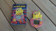 "Lcd game Orlitronic "" Ms. Pac-Man "" 1984 game watch"