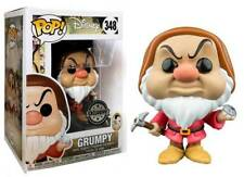 Snow White Grumpy Brontolo with diamond Pop! Funko Disney Vinyl Figure n° 348