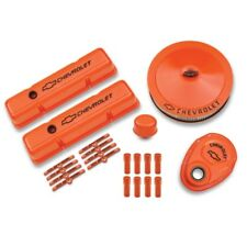 PROFORM 141-780 Complete Dress-up Kit in Chevy Orange Finish for 58-86 SB Chevy