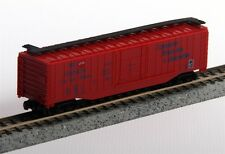MODEL POWER N SCALE 50' LONGVIEW PORTLAND & NORTHERN BOX CAR #84040 New in box