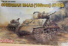 Dragon Model Kit 1/35 Sherman M4A3 105mm Gun HVSS US Army WWII Armor 6354