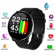 Smart Watch Heart Rate Oxygen Blood Pressure for Motorola G6 G7 Power Samsung LG
