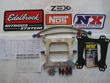 *STORE BLOWOUT SALE! *NEW HOLLEY 4150 CHEATER NITROUS PLATE KIT 50-250HP NX/NOS