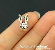 20Pcs Rabbit Charm Antique Silver Charm Necklace Pendant SC602