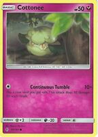 POKEMON SUN & MOON GUARDIANS RISING CARD: COTTONEE - 90/145