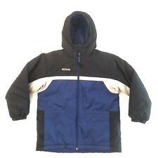 Columbia Insulated Winter Youth Jacket Blue Size 10/12 Ski Jacket