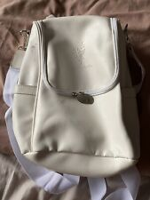 Younique White Backpack