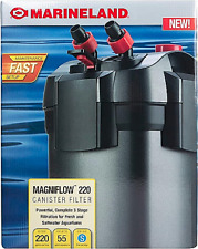 Marineland Magniflow Canister 220 for Aquarium Up to 55 Gal NEW