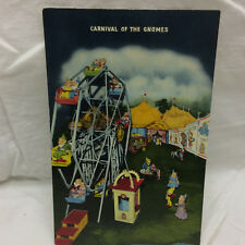 Vintage Postcard Carnival of the Gnomes  Not Used