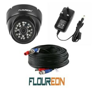 Floureon 1080P 4-IN-1 Security CCTV Dome Camera 30M Power:Video Cable & 12v PSU.