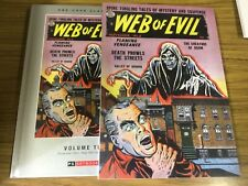 Web of Evil Vol 2 Pre-Code Golden Age Quality HC SlipCase PS Artbooks New