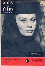 AMIS DU FILM ET DE LA TV  71 SOPHIA LOREN DANS LE CID 1961