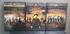 Magnificent Seven Trilogy - 3 Movie Set    (DVD)     LIKE NEW