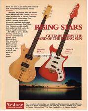 1982 WESTONE Thunder I, Concord II Electric Guitar Vtg Print Ad
