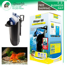 Whisper In-Tank Filter with BioScrubber for aquariums Up to 40 Gallon