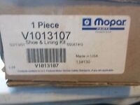 New OEM Mopar V1013107AB Brake Pads In Original Box