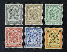 CKStamps: Germany Stamps Collection Scott#OL16-OL21 Mint H OG